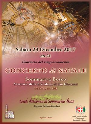Concerto di Natale della Corale Polifonica di Sommariva Bosco